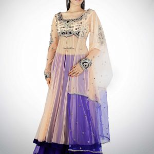 pink-with-purple-anarkali-skirt