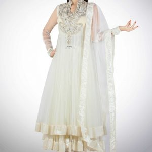 white-anarkali-with-semi-collar
