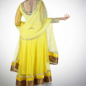 yellow-anarkali-deep-back-silver-embroidery