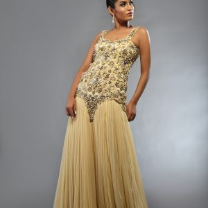 Ivory Prom Dress 2014