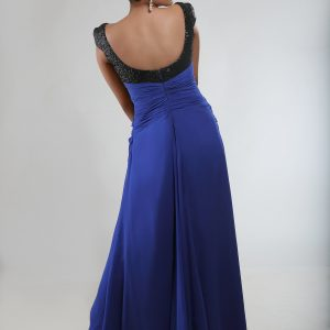 Electric_blue_cocktail_dress_back