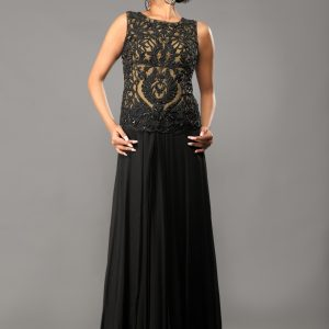 Black_nude_indian_designer_gown