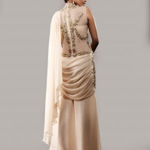 Gold_stitched_gown_sari