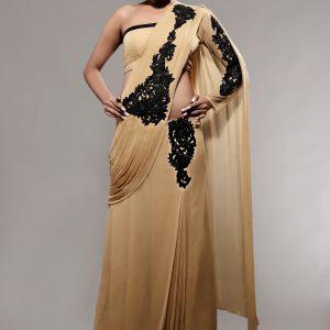 Stitched_sari_designer