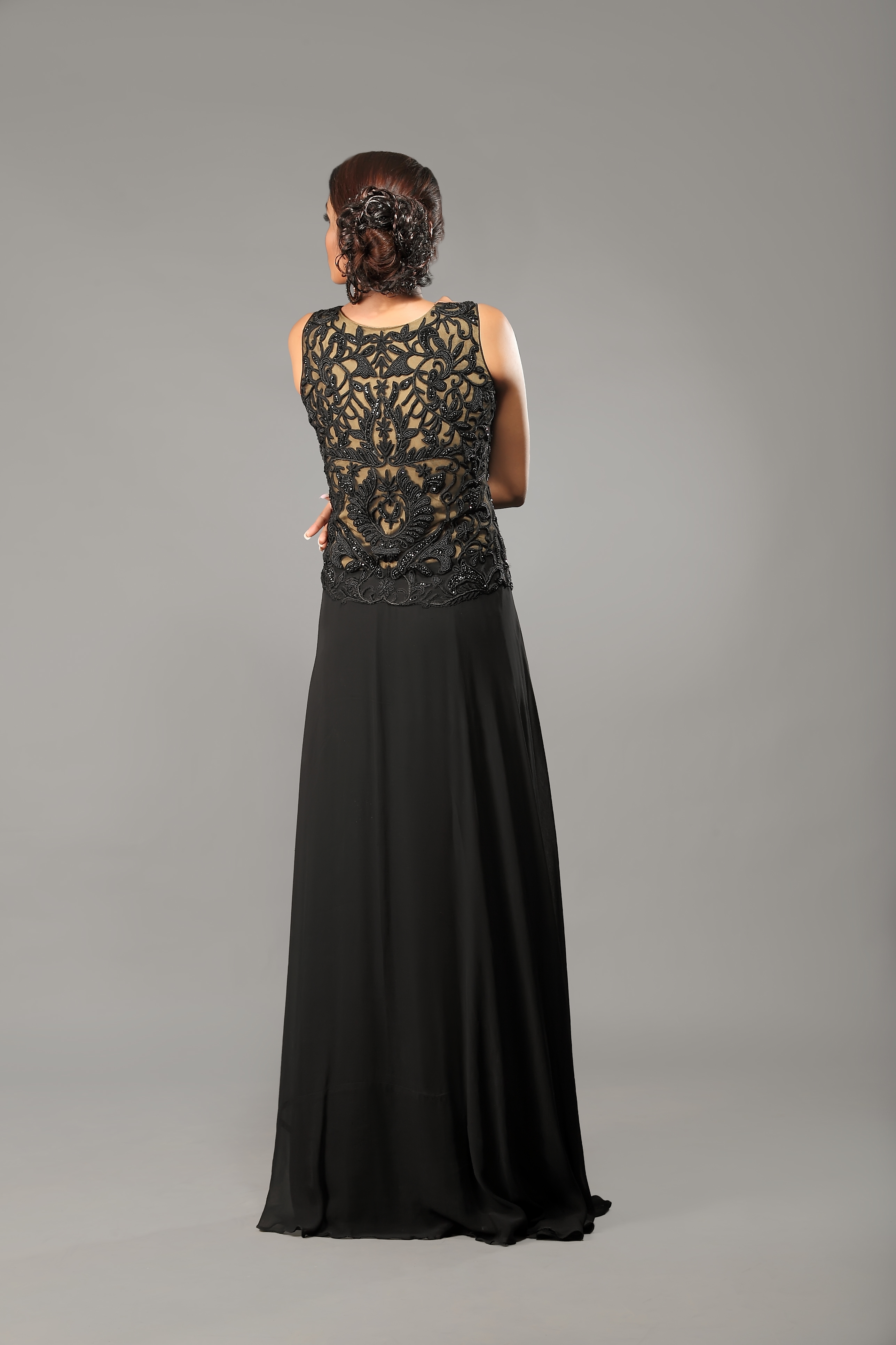 black_nude_designer_gown_back