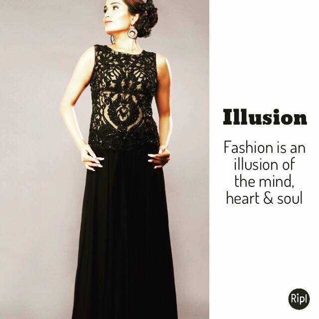2ccdfda4c New Year Party Illusion gowns - AD Singh