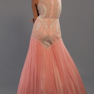 Baby-Pink-Halter-Gown-back