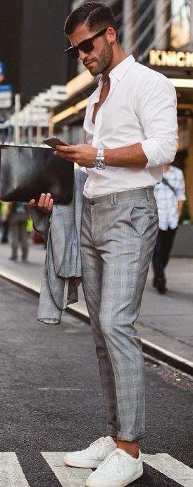The Checked Paid Pants Look