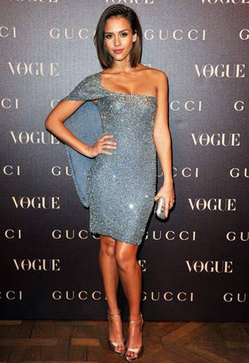 Jessica Alba in Gucci