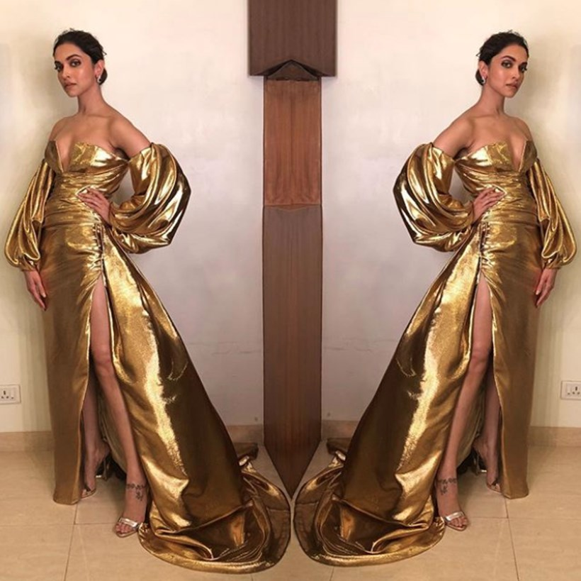 Deepika Padukone looks all Bling