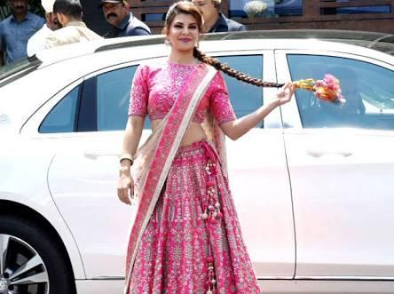 Jacqueline at Sonam Kapoors wedding