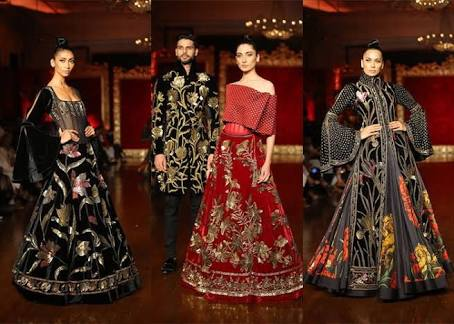 Rohit Bal Grand Finale Collection at ICW 2018