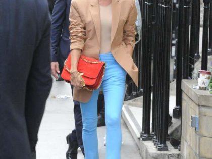 Victoria Beckham debuts at London Fashion Week 2018