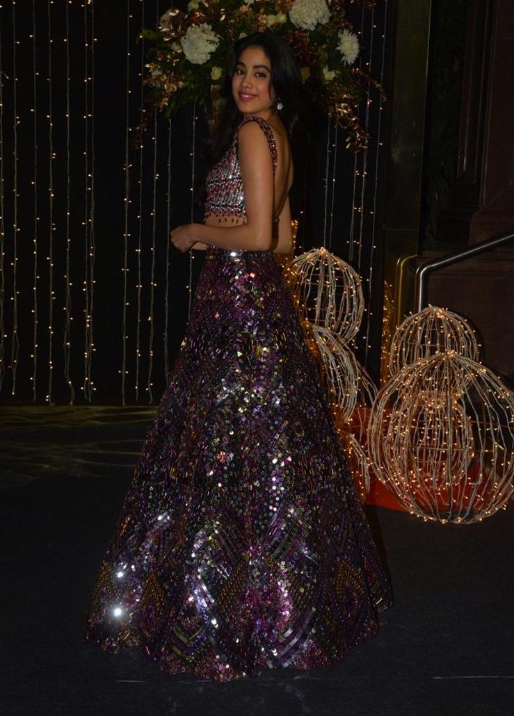 Jhanvi Kapoor at Priyanka Nick Reception