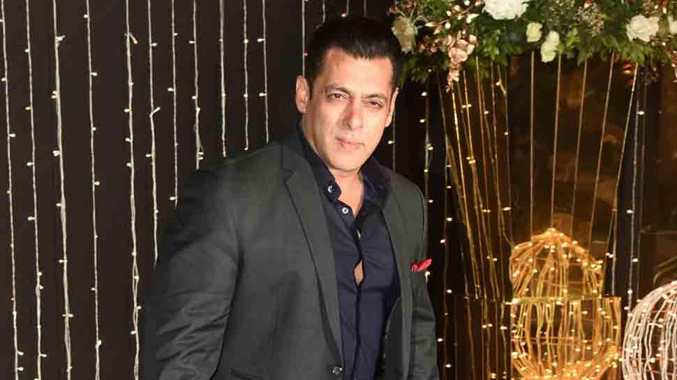 Salman Khan at the Reception
